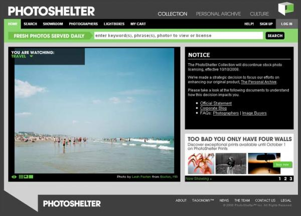 photoshelter screen grab