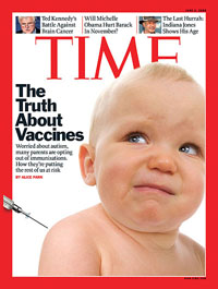 Time Magazine cover using microstock photo from dreamstime