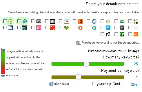 picworkflow keywording interface